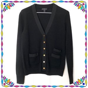 Authentic J. Crew Black Cardigan
